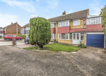 Thumbnail 3 bed semi-detached house for sale in Caliph Close, Gravesend