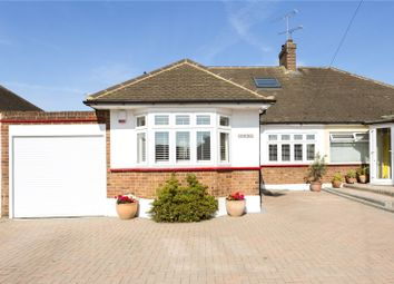 Thumbnail 4 bed semi-detached house for sale in Worcester Avenue, Upminster