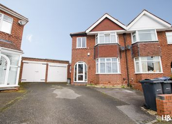 Thumbnail 3 bedroom semi-detached house for sale in Primrose Croft, Hall Green, Birmingham