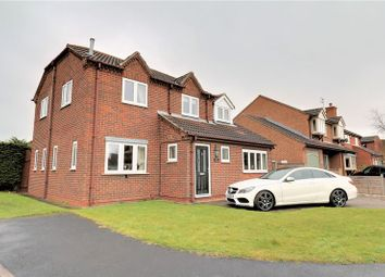 Thumbnail 4 bed detached house for sale in Carrside, Epworth, Doncaster