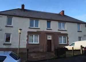 Thumbnail 2 bed flat for sale in Hawthorn Drive, Coatbridge, North Lanarkshire