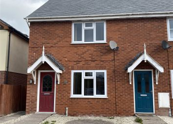 Thumbnail 2 bed end terrace house to rent in Llys Melyn, Tregynon, Newtown, Powys