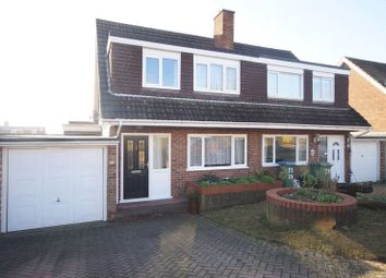 Thumbnail 3 bed semi-detached house for sale in Froxfield Gardens, Portchester, Fareham