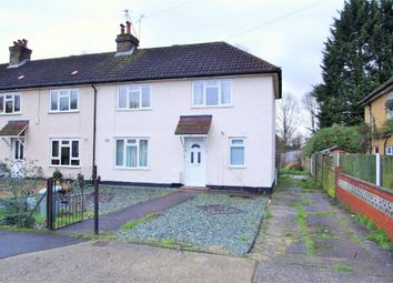 Thumbnail 3 bed end terrace house to rent in Manor Waye, Uxbridge, Middlesex