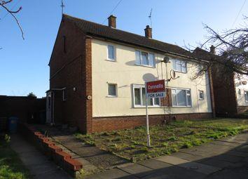 Thumbnail 3 bedroom semi-detached house for sale in Gannet Road, Ipswich