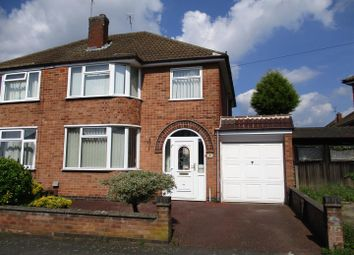 Thumbnail 3 bed property for sale in Chislehurst Avenue, Braunstone, Leicester