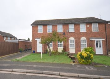 Thumbnail 3 bed semi-detached house for sale in Lawson Crescent, Great Billing, Northampton