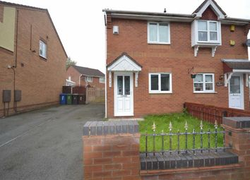 Thumbnail 2 bed semi-detached house to rent in Dryden Close, Wigan
