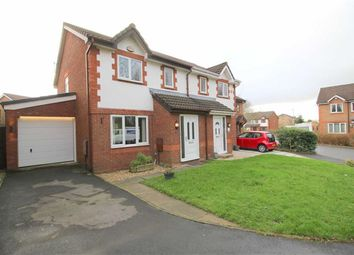 Thumbnail 3 bed semi-detached house for sale in Whinsands Close, Fulwood, Preston