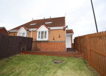 Thumbnail 1 bedroom semi-detached house to rent in Hevingham Close, Sunderland