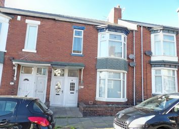 Thumbnail 3 bed flat for sale in Crofton Street, South Shields