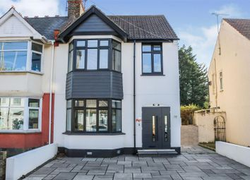 Thumbnail 3 bed semi-detached house for sale in North Avenue, Southend-On-Sea