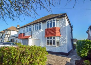 Thumbnail 4 bed semi-detached house for sale in Cottesmore Gardens, Leigh-On-Sea, Essex