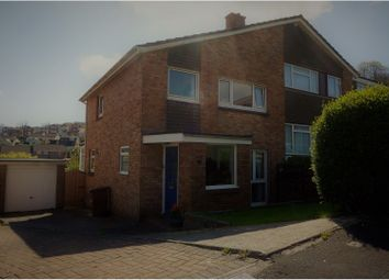 Thumbnail 3 bedroom semi-detached house for sale in Stefan Close, Plymouth