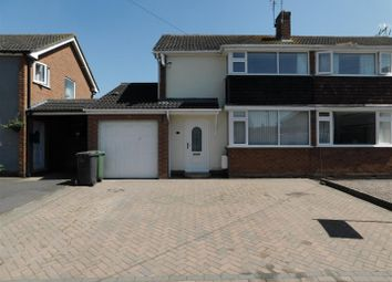 Thumbnail 3 bed semi-detached house to rent in Grasmere Grove, Stourport-On-Severn