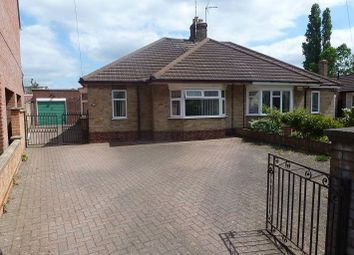 Thumbnail 3 bed semi-detached bungalow to rent in Vere Road, Peterborough
