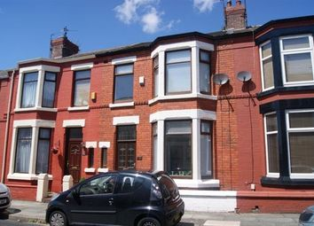 Thumbnail 3 bed terraced house to rent in Fallowfield Road, Wavertree, Liverpool