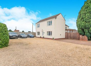 Thumbnail 4 bed detached house for sale in Sutton Road, Four Gotes, Wisbech