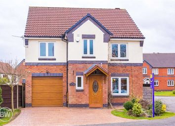 Thumbnail 4 bed detached house for sale in Linnet Drive, Leigh, Lancashire