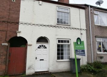 Thumbnail 2 bed terraced house to rent in Derby Road, Chesterfield