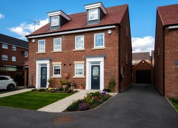 Thumbnail 3 bed semi-detached house for sale in Waterton Road, Castleford