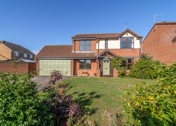 Thumbnail 4 bed detached house for sale in Rookery Avenue, Sleaford, Lincolnshire