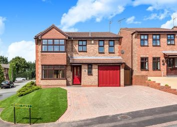 Thumbnail 4 bed detached house for sale in Hodnet Place, Heath Hayes, Cannock, Staffordshire