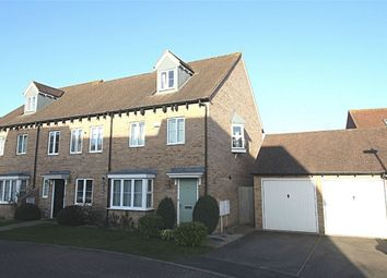 Thumbnail 3 bed end terrace house for sale in Coppice Drive, Lower Cambourne, Cambourne, Cambridge