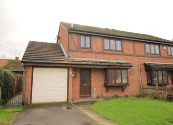 Thumbnail 3 bed semi-detached house for sale in King Charles Close, Willerby, Hull