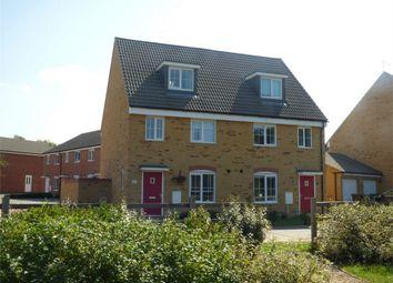 Thumbnail 3 bed semi-detached house for sale in Kelburn Road, Orton Northgate, Peterborough, Cambridgeshire