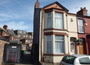 Thumbnail 2 bed end terrace house to rent in Gorsebank Road, Mossley Hill, Liverpool