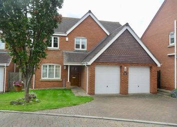 Thumbnail 5 bed detached house for sale in Wiggins Close, Rugby