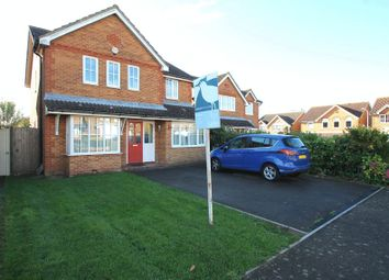Thumbnail 4 bed detached house for sale in Heyford Close, Hawkinge, Folkestone