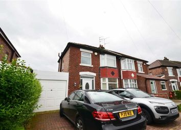 Thumbnail 3 bed semi-detached house to rent in Aber Road, Cheadle, Stockport