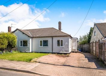 Thumbnail 3 bed bungalow for sale in Old Fallow Avenue, Cannock, Staffordshire, United Kingdom