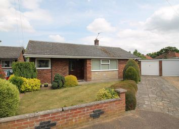 Thumbnail 3 bedroom detached bungalow for sale in Brandon Close, Hellesdon, Norwich