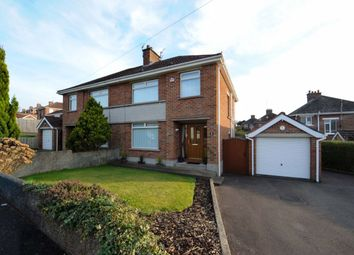 Thumbnail 3 bed semi-detached house for sale in Cliveden Crescent, Belfast
