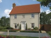 Thumbnail 4 bed detached house for sale in Saxon Meadows, Capel St Mary, Suffolk