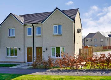 Thumbnail 3 bedroom semi-detached house to rent in Baillie Drive, Alford, Aberdeenshire