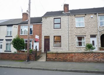 Thumbnail 2 bed terraced house for sale in Devonshire Road North, New Whittington, Chesterfield