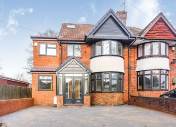 Thumbnail 5 bed semi-detached house for sale in School Road, Birmingham