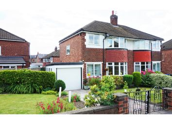 Thumbnail 3 bedroom semi-detached house for sale in Norbury Drive, Marple, Stockport
