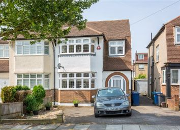 Thumbnail 4 bedroom semi-detached house for sale in Wycherley Crescent, New Barnet, London
