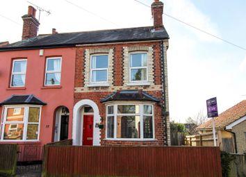 Thumbnail 2 bedroom semi-detached house for sale in Downing Road, Tilehurst, Reading