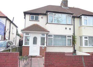 Thumbnail 3 bed semi-detached house for sale in Munster Avenue, Hounslow