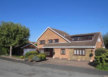 Thumbnail 5 bed detached house for sale in Ilminster Close, Burbage, Hinckley