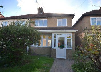 Thumbnail 3 bedroom semi-detached house for sale in Hazeltree Road, Watford