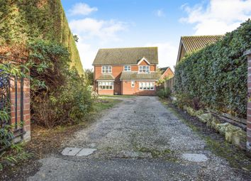 Thumbnail 4 bed detached house for sale in Chapel Road, Attleborough