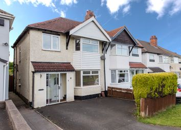 Thumbnail 3 bed semi-detached house for sale in Callowbrook Lane, Rubery, Birmingham