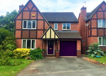 Thumbnail 4 bed detached house for sale in Barbel Crescent, Broomhall, Worcester